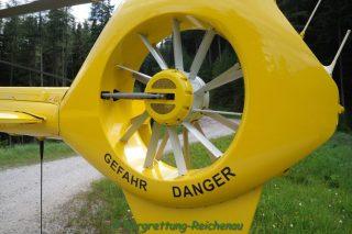 Mountainbikesturz im Bereich Speckbacher Hütte