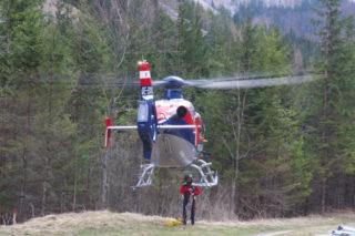 Rettung vom Alpenvereinssteig