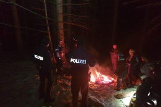 Unterstützung der Alpinpolizei
