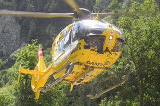 Mountainbike Unfall im Bereich Pottschacherhütte